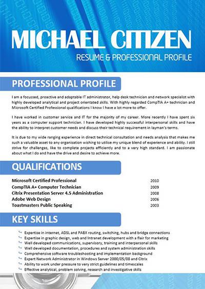 nursing key skills resume
